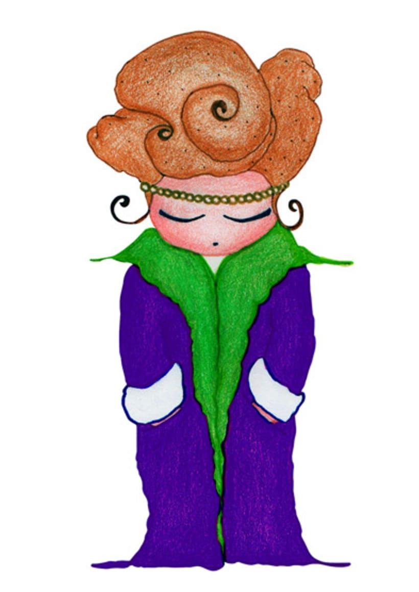 Ilustración infantil para la marca CUCHITA 12
