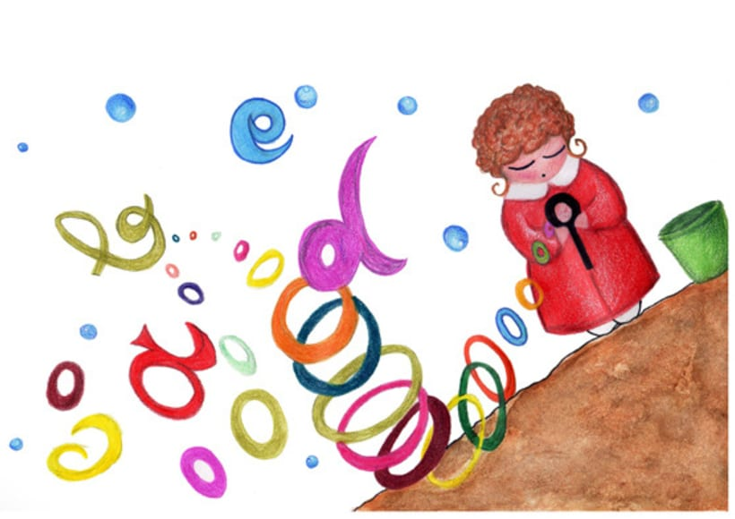 Ilustración infantil para la marca CUCHITA 2