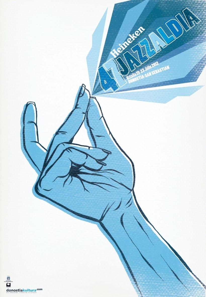 Propuesta concurso cartel Jazzaldía 2012  1