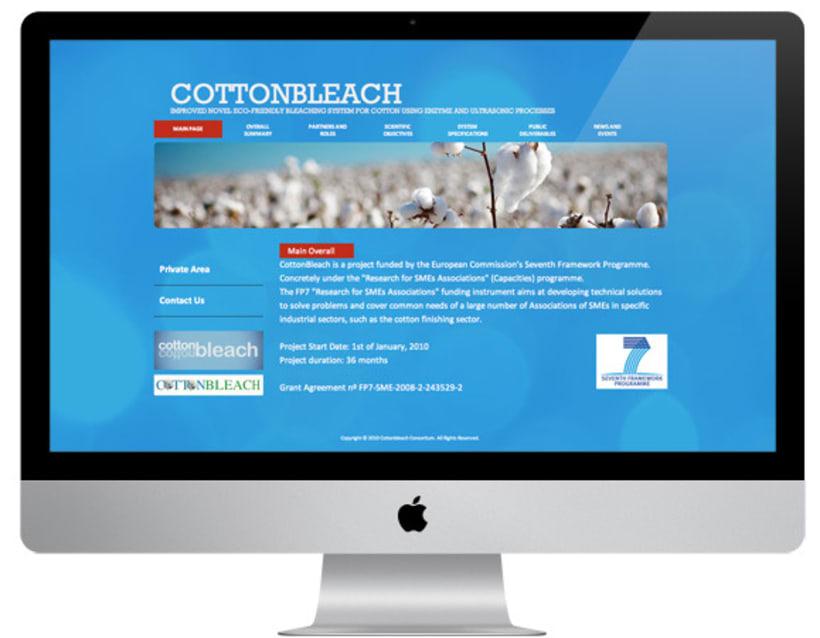Brochure y web Cottonbleach 1