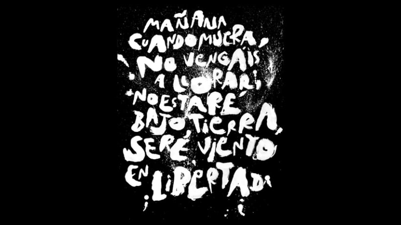 Lettering para Budú (camisetas por encargo) 15