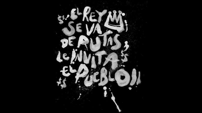 Lettering para Budú (camisetas por encargo) 12