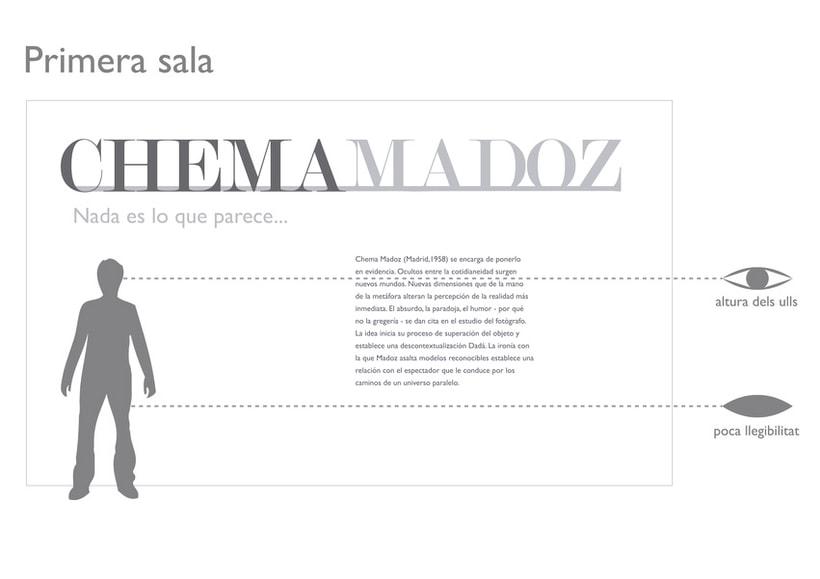 Exposición de Chema Madoz en Tecla Sala 5