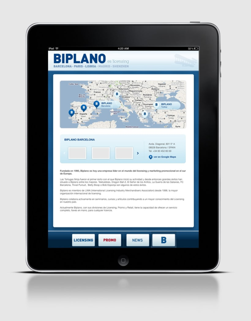 Biplano / iPhone & iPad App 3