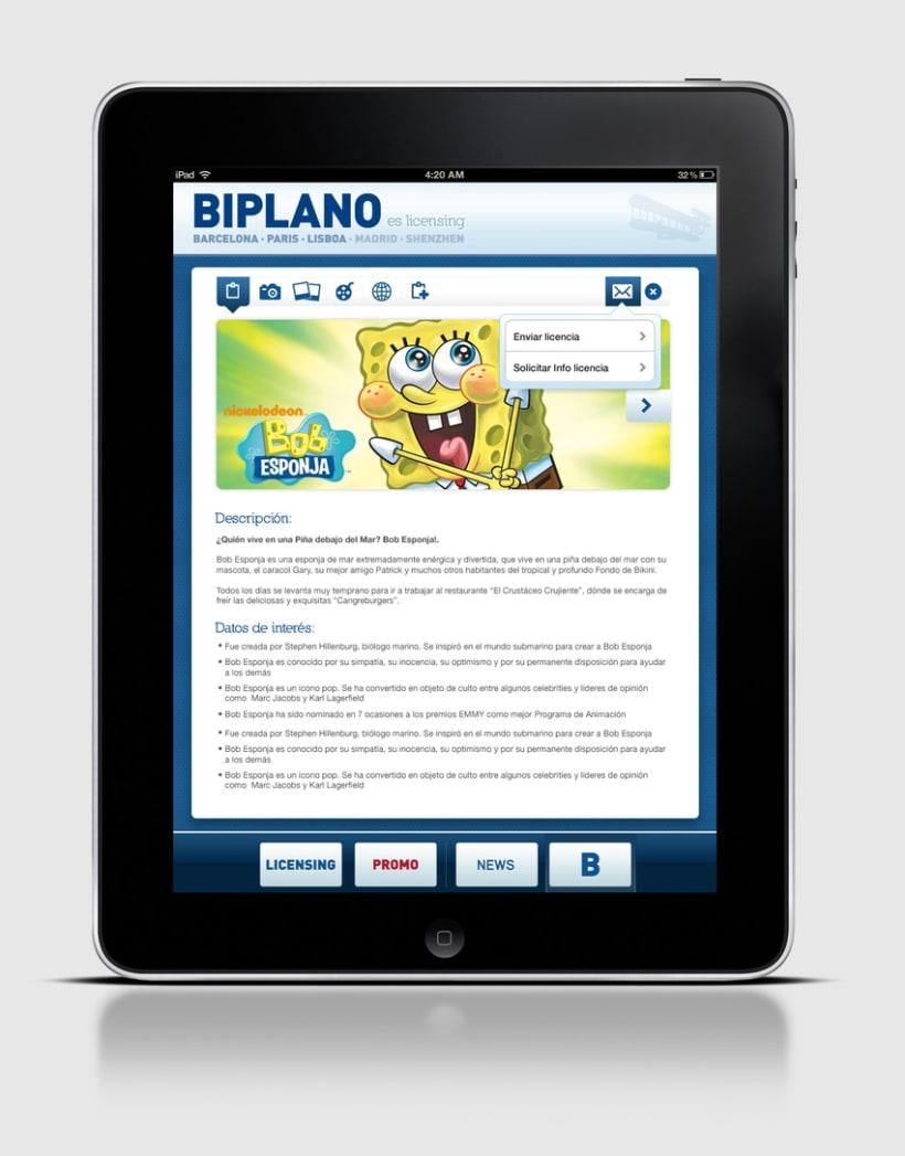 Biplano / iPhone & iPad App 2