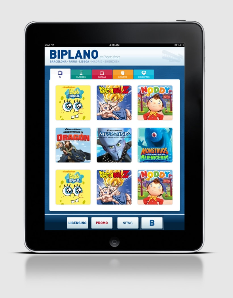 Biplano / iPhone & iPad App 1