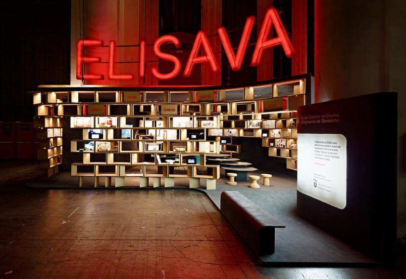 Elisava Stand 2012 4