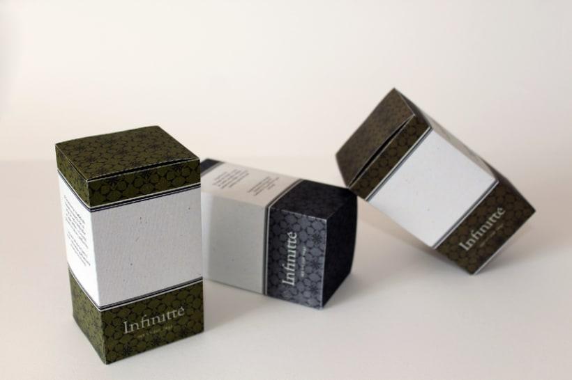 Identidad y Packaging para Infinitté 4