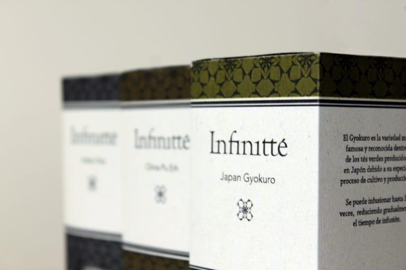 Identidad y Packaging para Infinitté 2