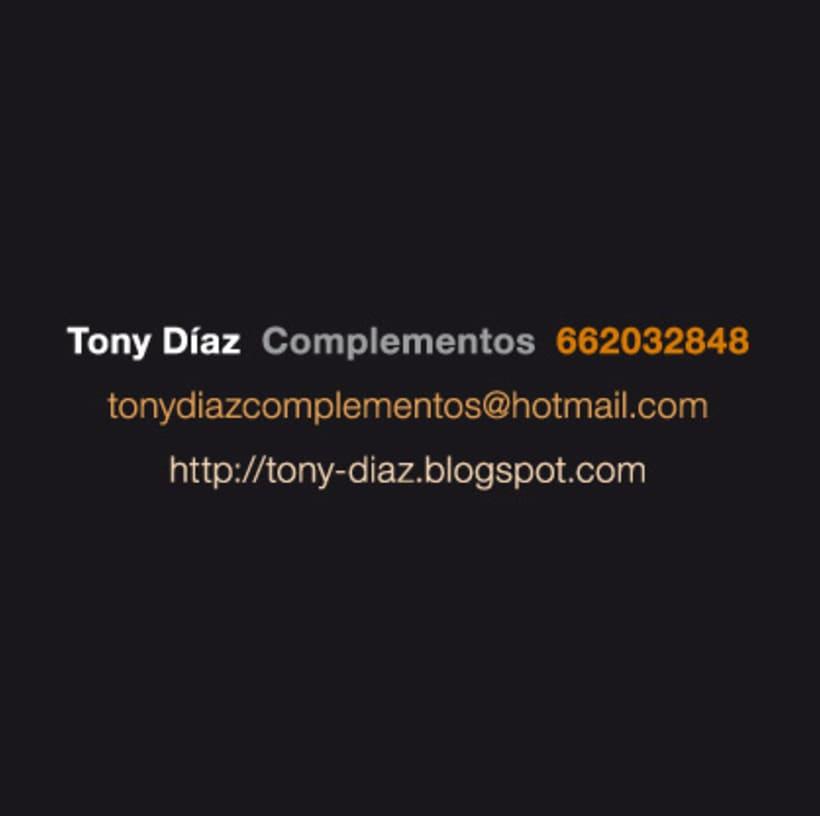 Toni Díaz complementos ::: Imagen corporativa 2