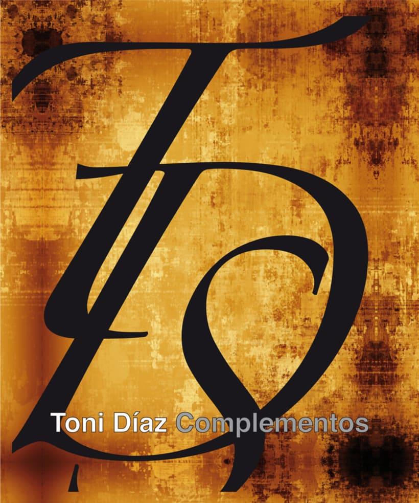 Toni Díaz complementos ::: Imagen corporativa 3