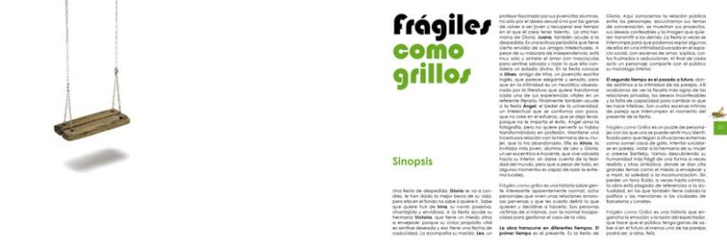 Frágiles como grillos ::: Cartelería y publicidad 2