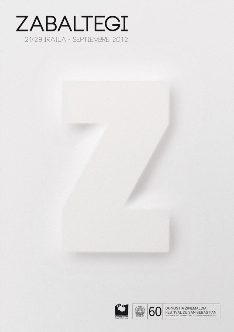 Zabaltegi - Cartel San Sebastián 2012 (Proyecto finalista) 0