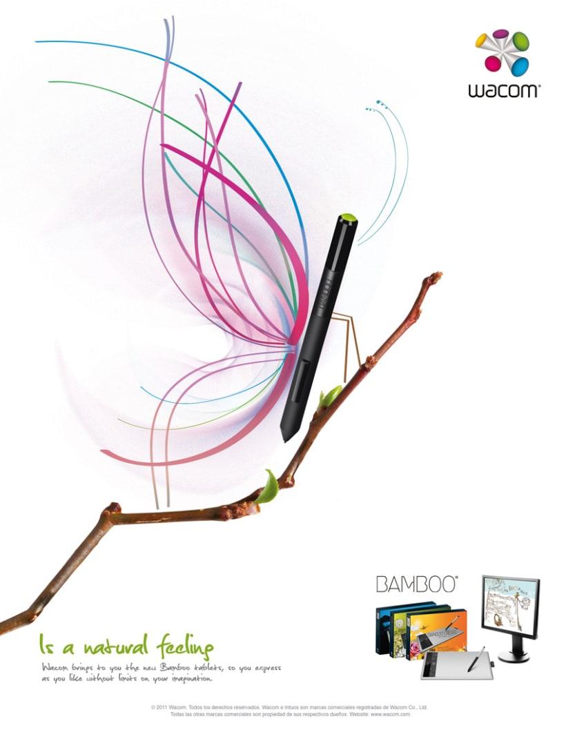 Wacom, propuesta visual de lanzamiento 2