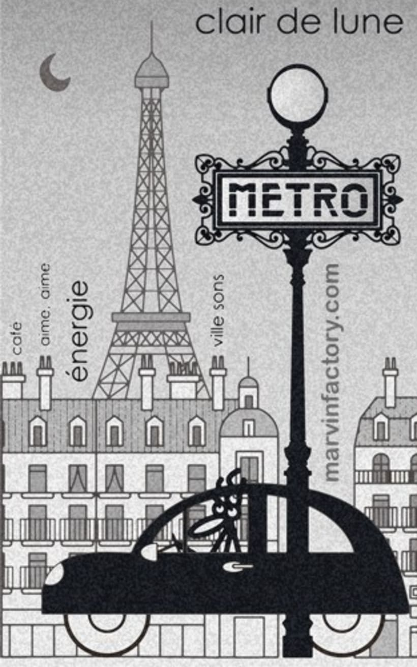 Posters de París 2