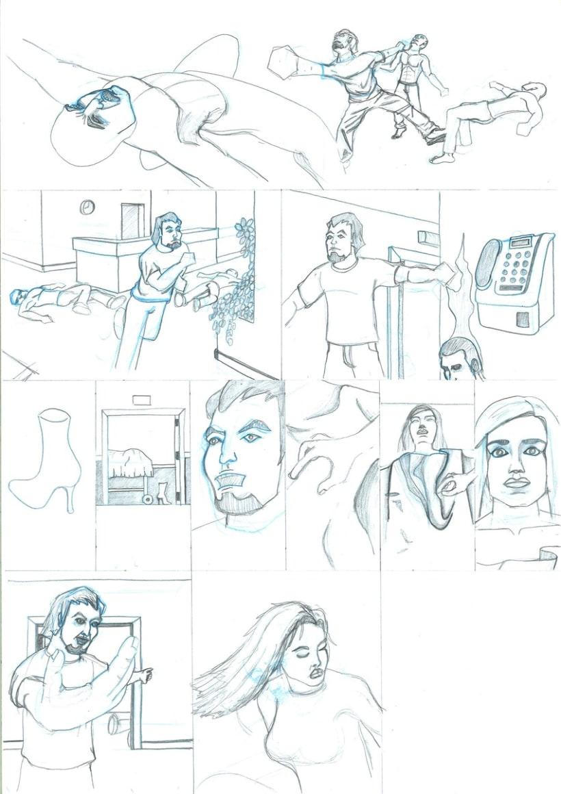 Cómic (lápices) 4