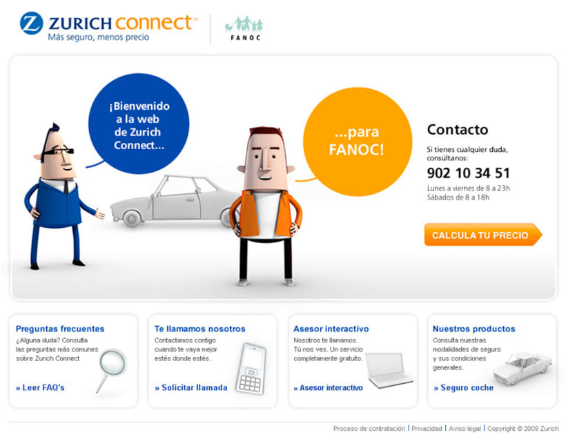 Zurich Connect Web 4