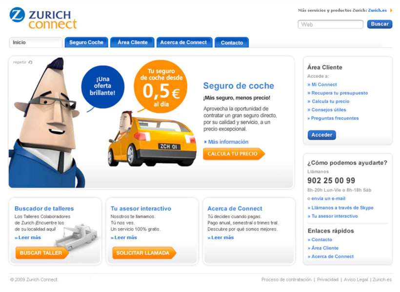 Zurich Connect Web 1