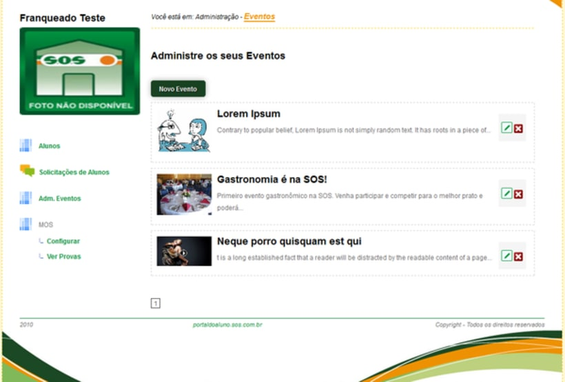 Student Web Portal 5