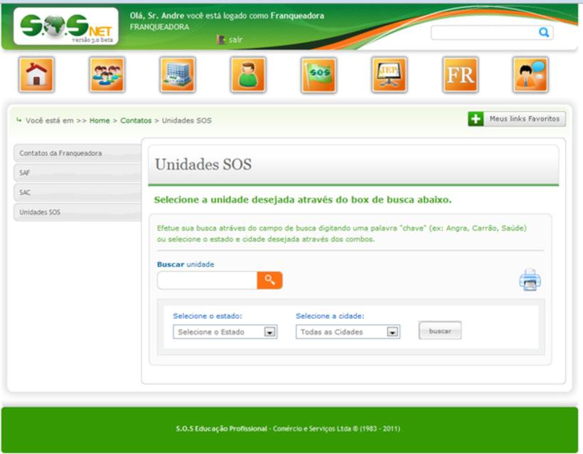 Extranet SOSNet 6