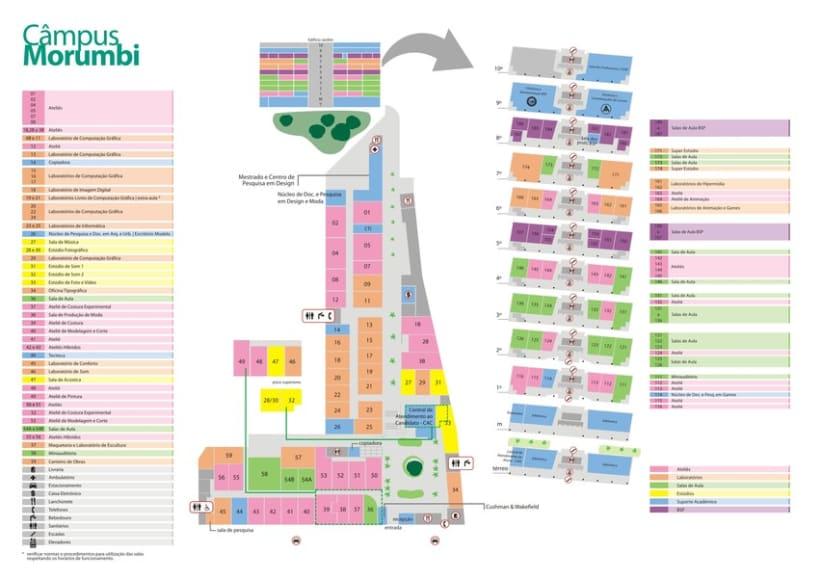 Mapas Universidade Anhembi Morumbi 18