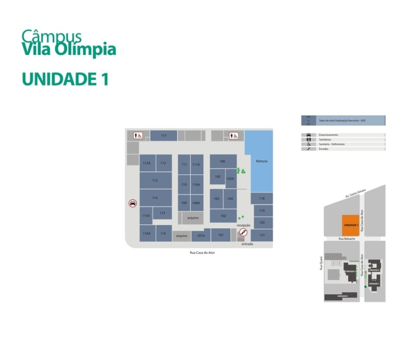 Mapas Universidade Anhembi Morumbi 8