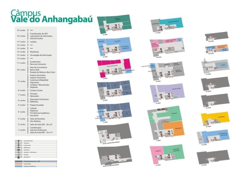 Mapas Universidade Anhembi Morumbi 6