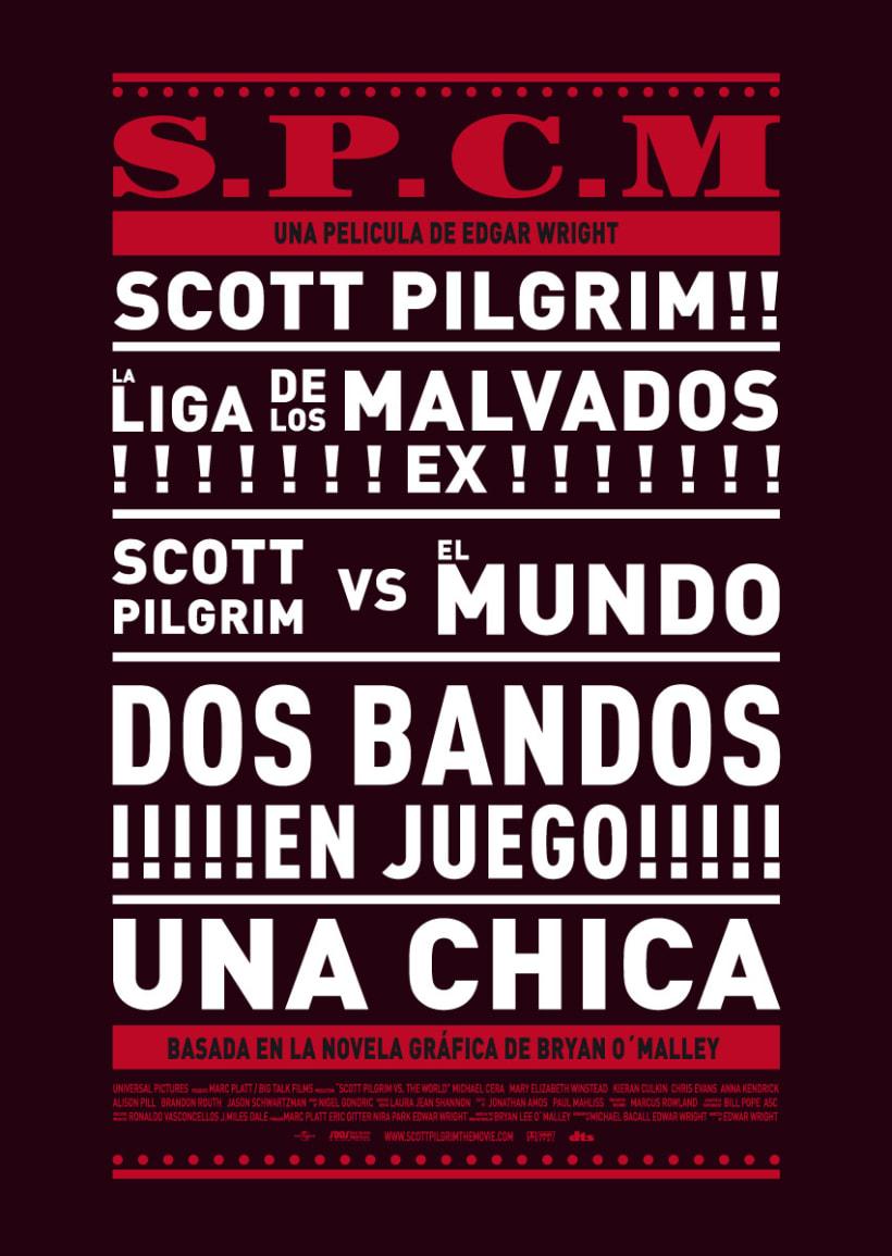 Cartel de cine | Scott Pilgrim 2