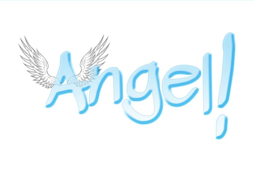 Angel: Logotipo y carteles para Chica Mala 1