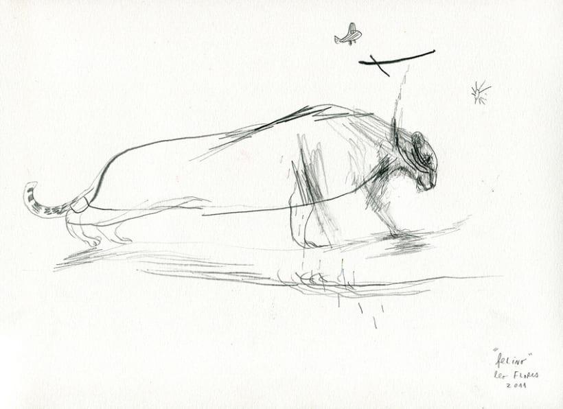 Dibujos desde el silencio 3