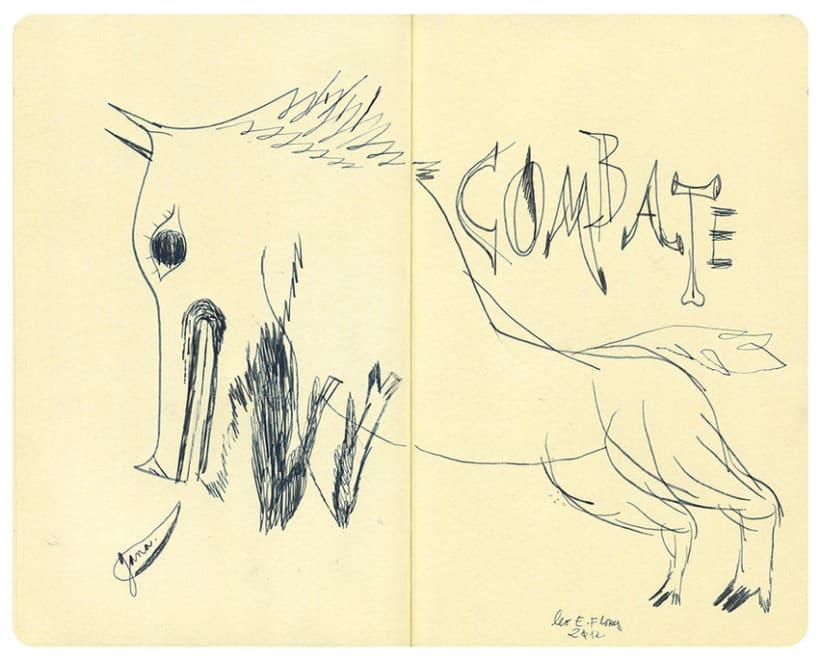 Dibujos en libretas 8