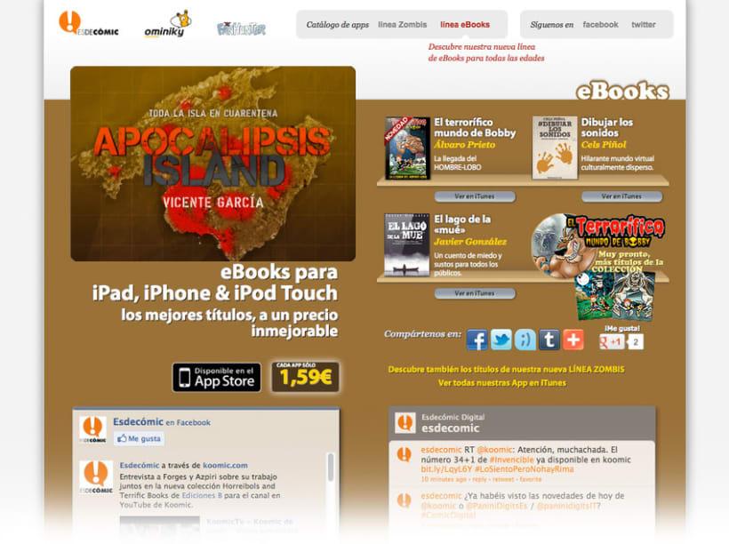 App - eBooks for iOS: Microsites 3