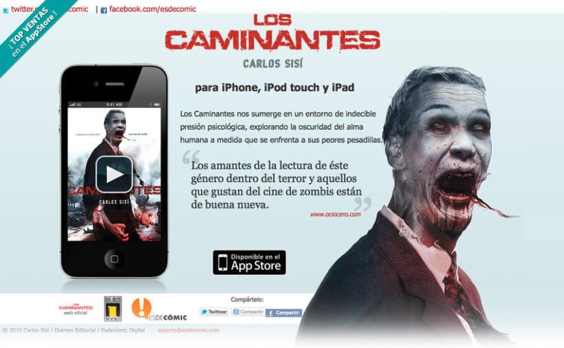 App - eBooks for iOS: Microsites 4