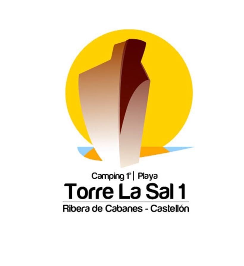 Reestyling Logotipo Camping Torre la Sal 2