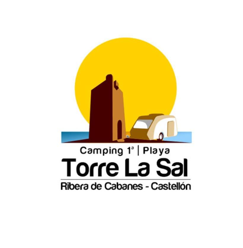 Reestyling Logotipo Camping Torre la Sal 5