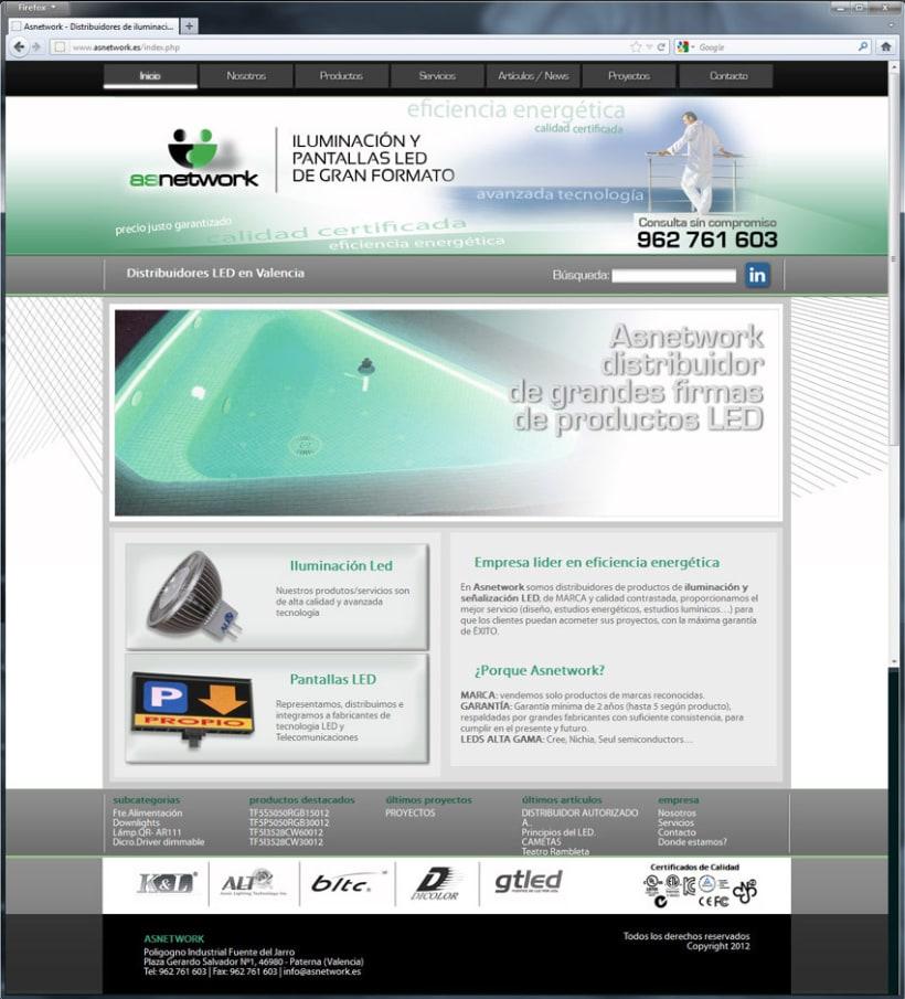 Diseño Web Asnetwork 3