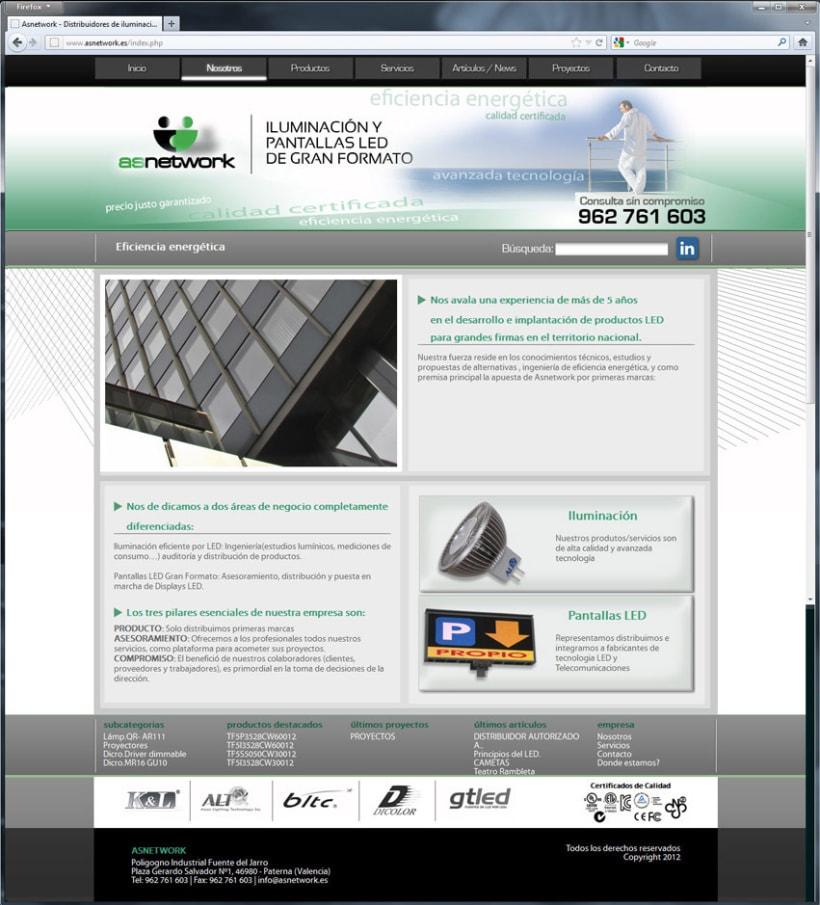 Diseño Web Asnetwork 2
