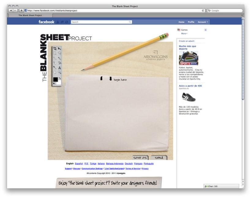Designers vs Blank Sheet 4
