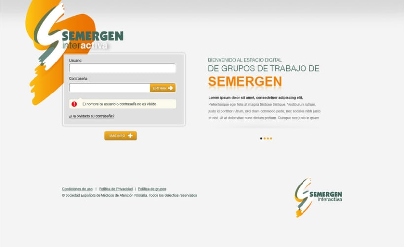 Plataforma Web Semergen 1
