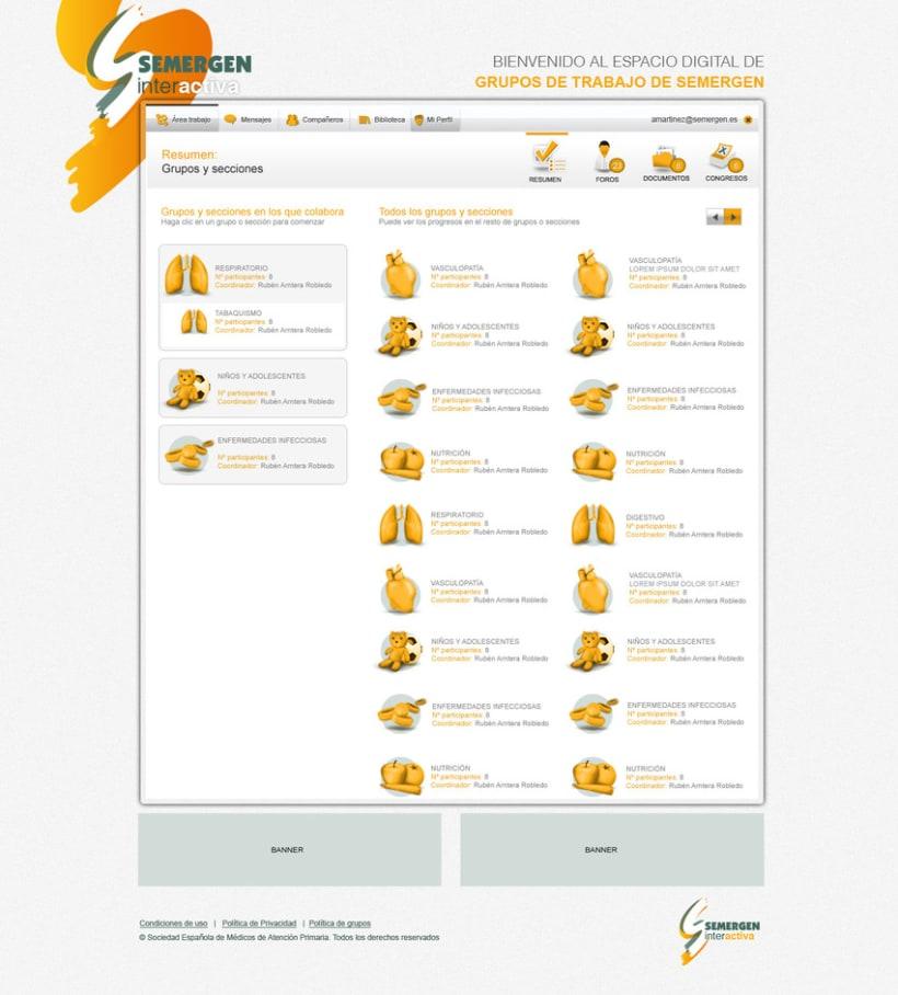 Plataforma Web Semergen 3