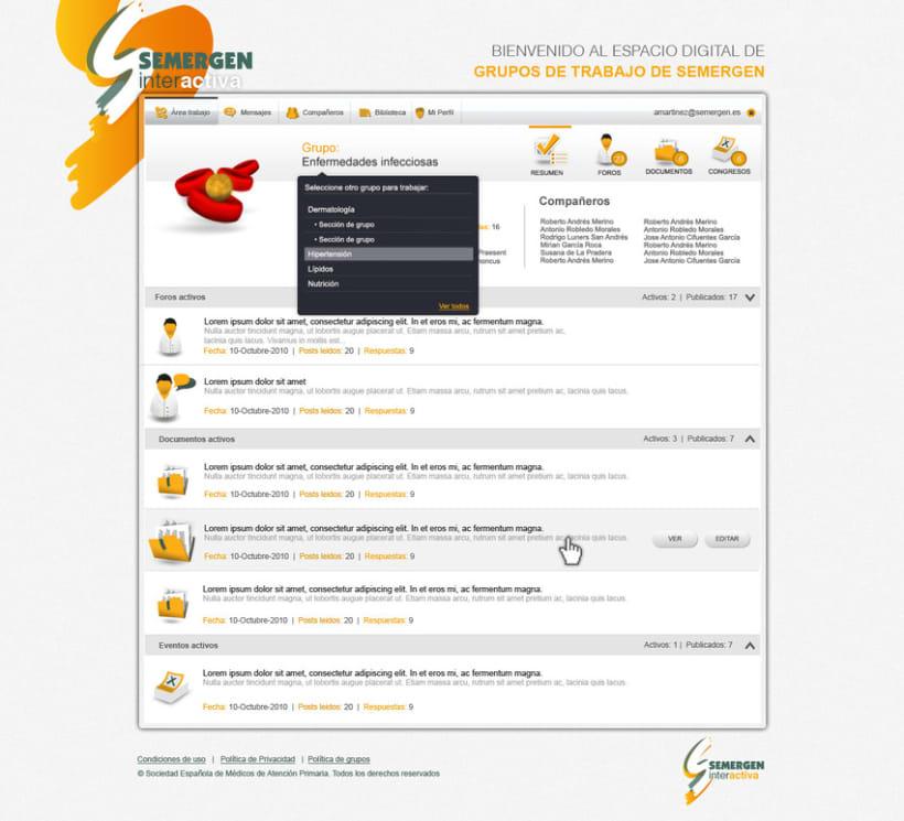 Plataforma Web Semergen 4