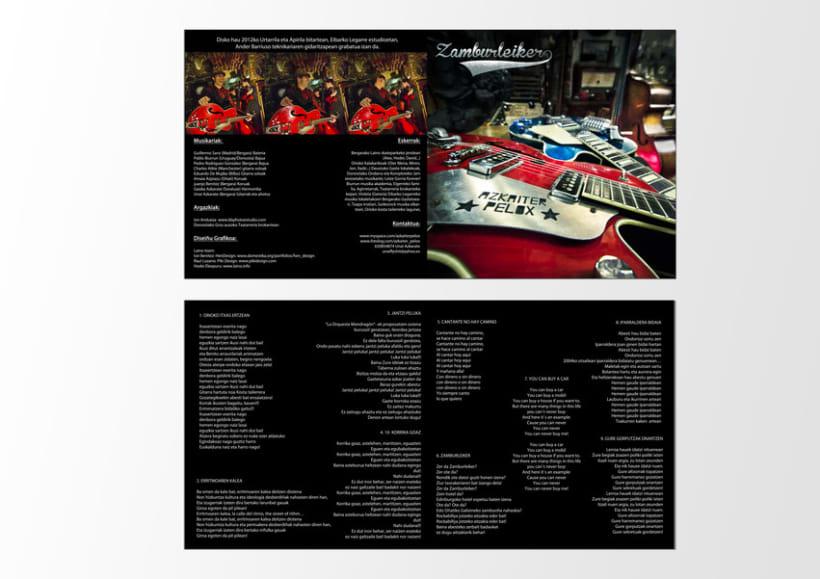 Azkaiter Pelox- Zamburleiker CD 4