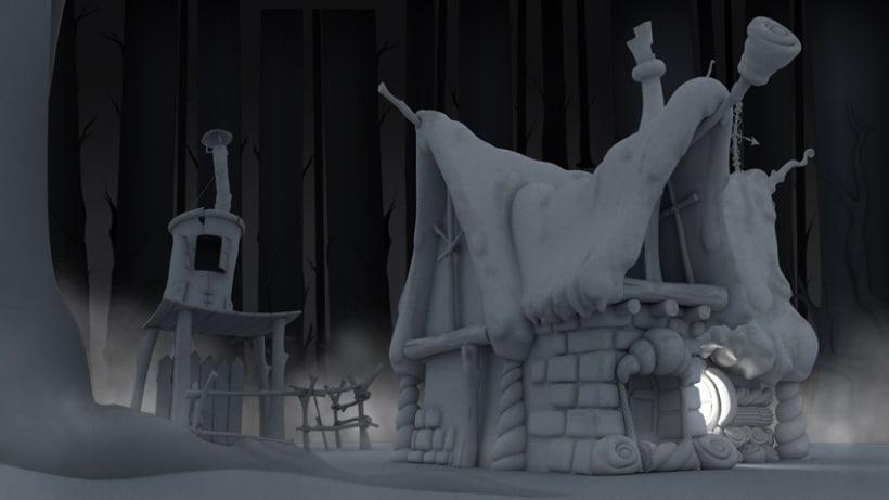 La casita de chocolate  (Hansel y Gretel) 5