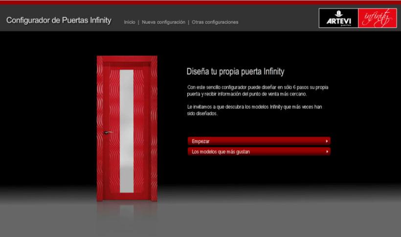 Configurador Infinity 6