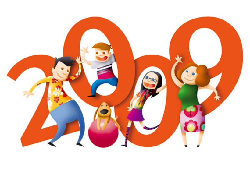 Calendario 2009 Cajastur 2
