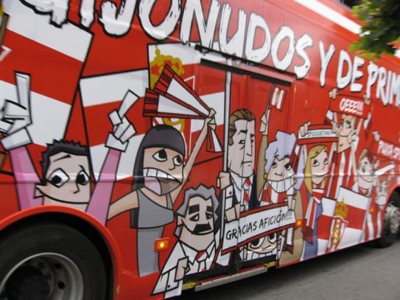 Bus ascenso Sporting de Gijón 4
