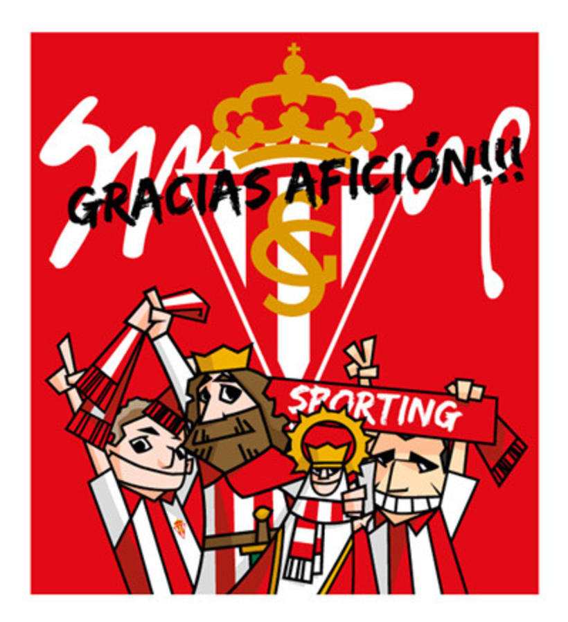 Bus ascenso Sporting de Gijón 1