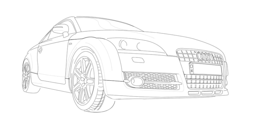 Audi TT Vector 1