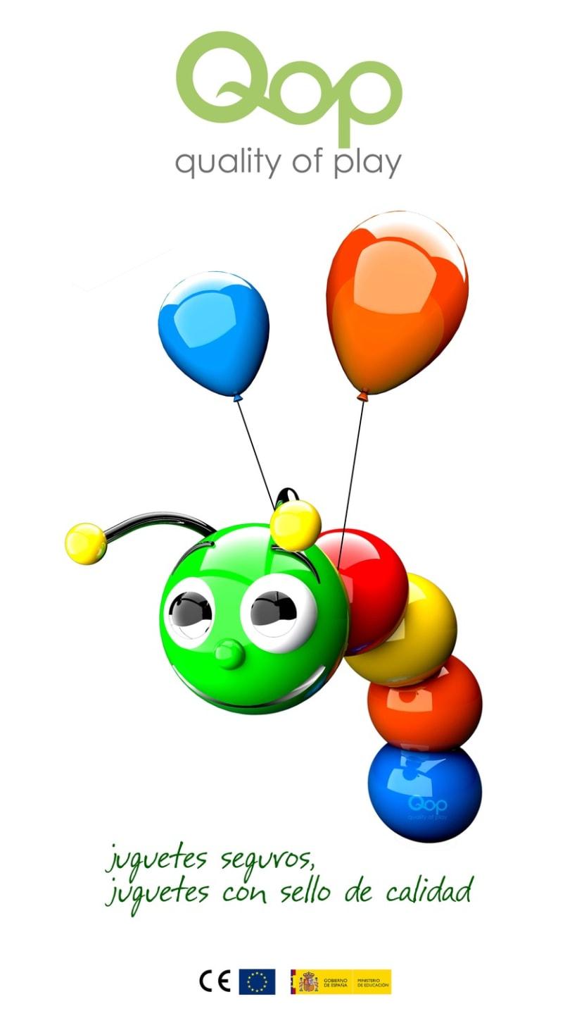 Logotipo para el control de calidad en los juguetes 1