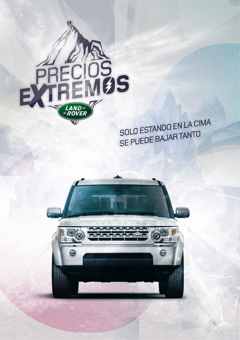 PRECIOS EXTREMOS // LAND ROVER 1